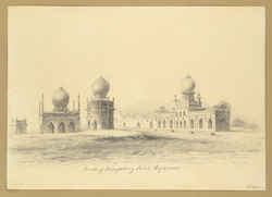 Tombs of Mongalany Sahib, Beejapore [Bijapur]